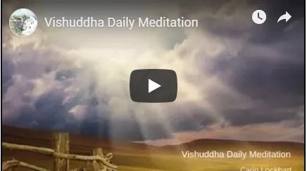 Vishuddha daily meditation image