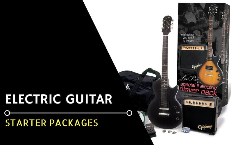 Best Electric Guitar Starter Package Kit