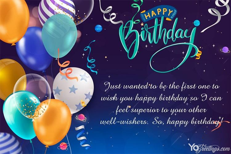 photo Free Birthday Pictures For Him happy birthday card with color balloons