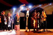 Pak Amin, Bupati Ponorogo, meresmikan acara