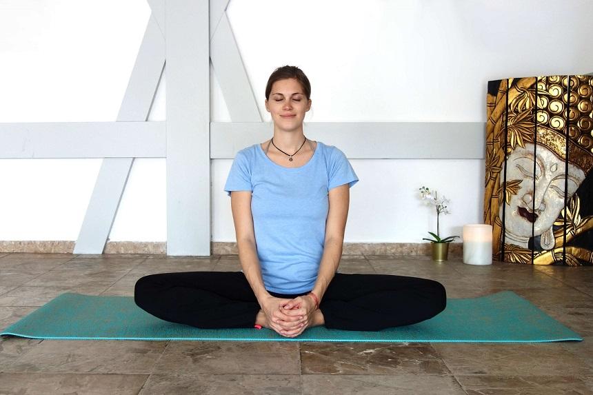 baddhakonasana yog temple - Yoga Asana Glossary