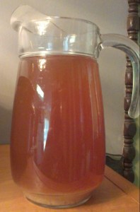 water kefir with molasses