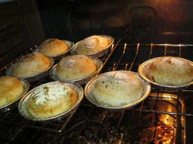 roasted garlic buns