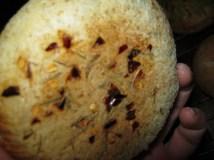 garlic filled buns