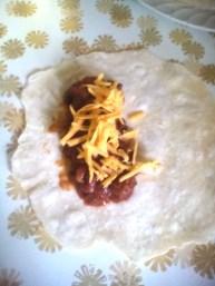 baked chili burritos