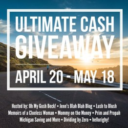 Ultimate Cash Giveaway April