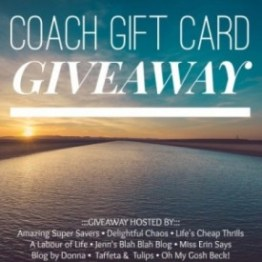 coach giveaway May