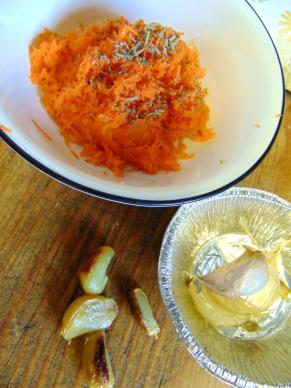 carrot and garlic flavor mix
