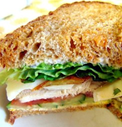 carrot sourdough fried apple sandwich