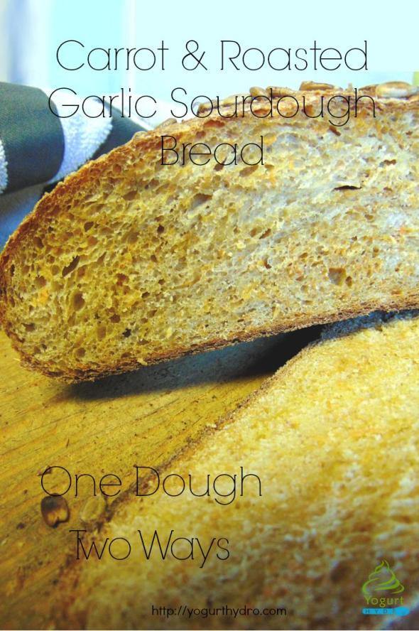 Carrot & Roasted Garlic Sourdough: One Dough, Two Ways