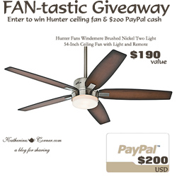 fan-tastic giveaway button