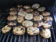 grilled potatoes