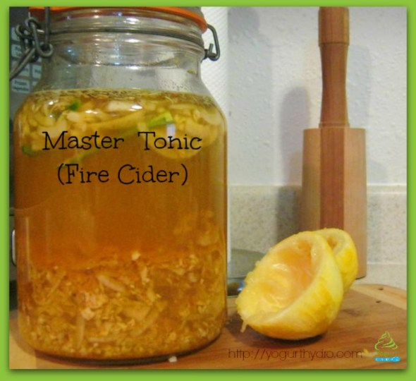 fire cider, master tonic