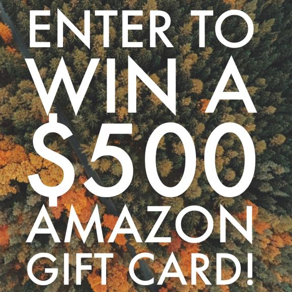 Enter for your chance to win $500 Paypal or Amazon Gift Card (Just in time for Christmas!)