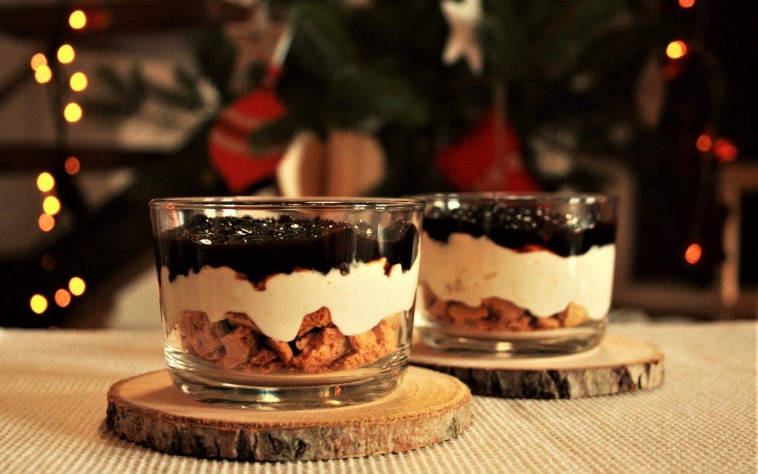 Cheesecake de Natal