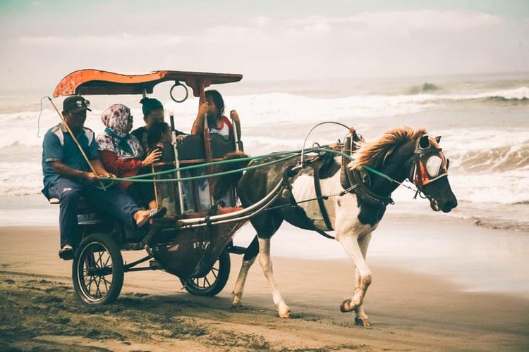 The Beauty of Parangtritis Beach in Yogyakarta