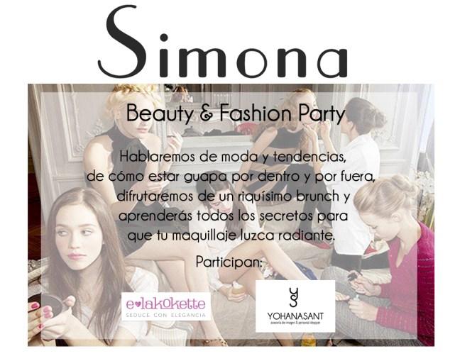 beauty fashion party simona