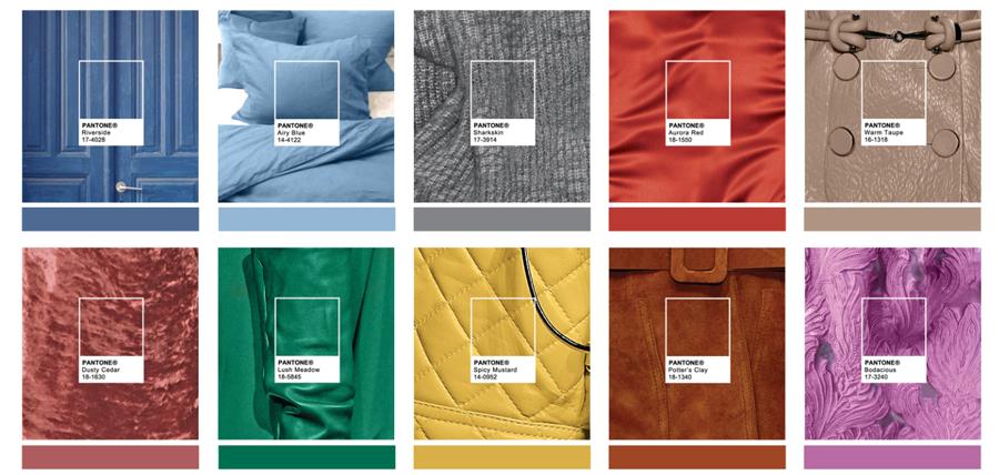 10 Colores Tendencia para esta Temporada