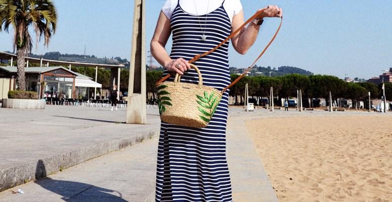 vestido largo de rayas 3