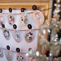 Free Disney Christmas Advent Calendar