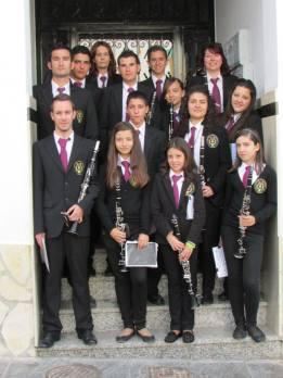 Sección de clarinetes