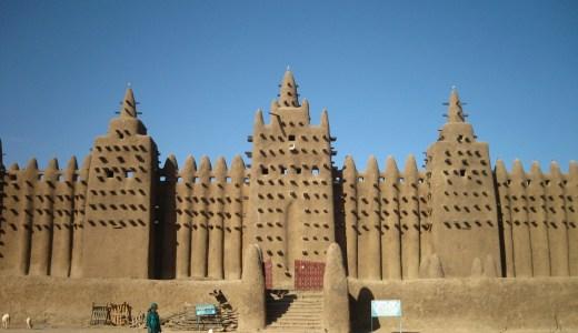 驚愕世界遺産!ジェンネの大モスク。泥の芸術の街とは!?