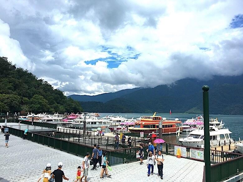 Sun-moon lakeへの行き方