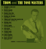 THOM AND THE TONEMASTERS - RHYTHM SHOT COVER back