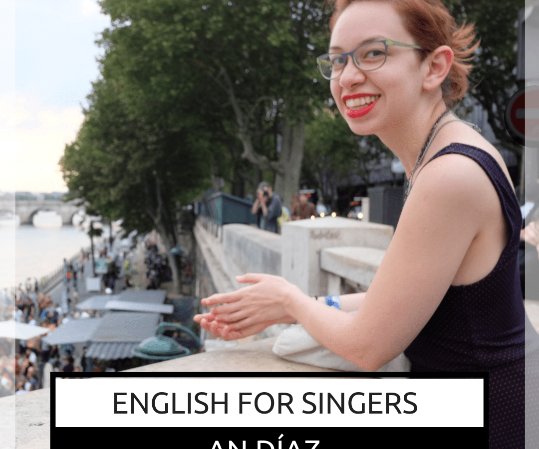 Prochaine Masterclasse Jazz Vocal avec An Díaz le 25 mai à Arras, English for singers!