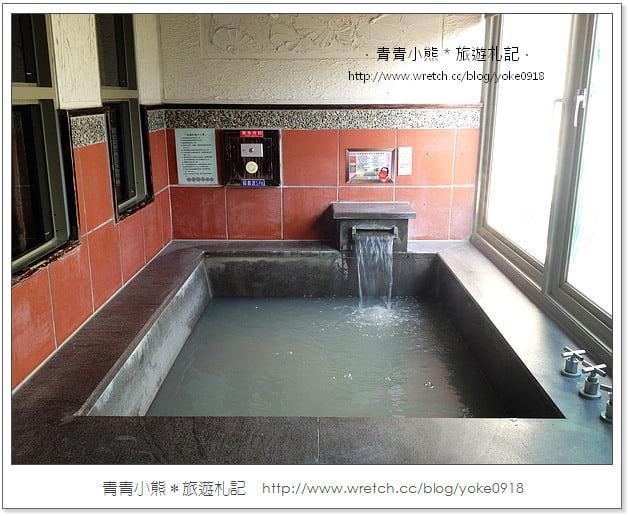 關子嶺溫泉-沐春溫泉會館泡泥漿溫泉