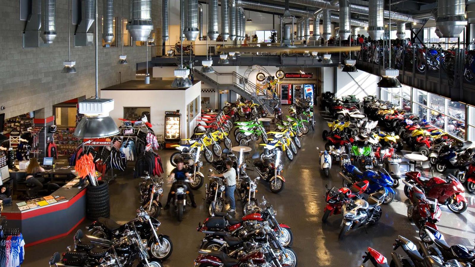 Motorcycle Dealer Responsive Website Design