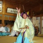 福島大神宮 庭散米舞 宵宮 2005