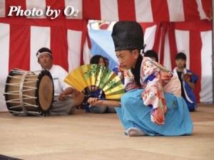 函館市 旧南茅部地区 木直大正神楽 ひろめ舟まつり 2004