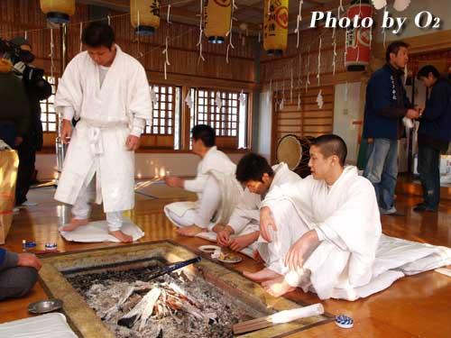 寒中みそぎ 木古内町 2006