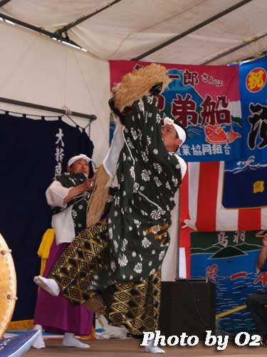 函館市 郷土芸能 旧南茅部 神楽 大船南部神楽 獅子舞
