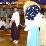 平成19年 知内町 雷公神社 宵宮祭 松前神楽 十二の手獅子舞 御稜威舞