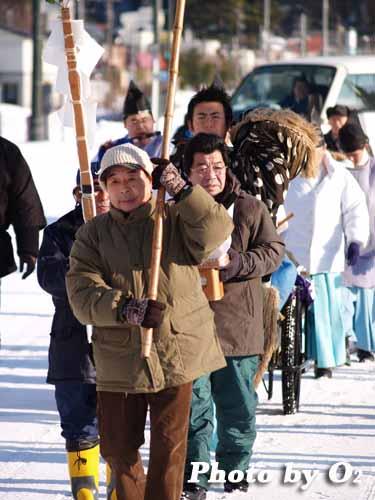 福島町 正月 神事 門祓