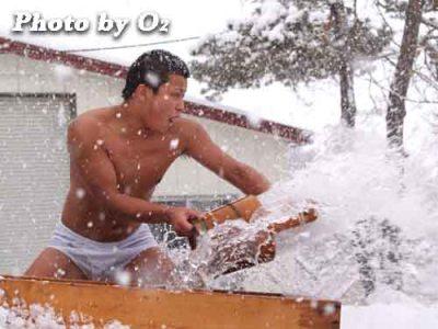 北海道 木古内町 平成20年 寒中みそぎ 行修者 2008 稲荷