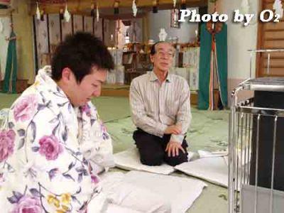 北海道 木古内町 平成20年 寒中みそぎ 行修者 2008 山の神