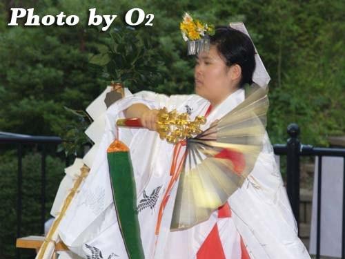 平成20年 福島町 かがり火コンサート 追悼松前神楽 鈴上舞