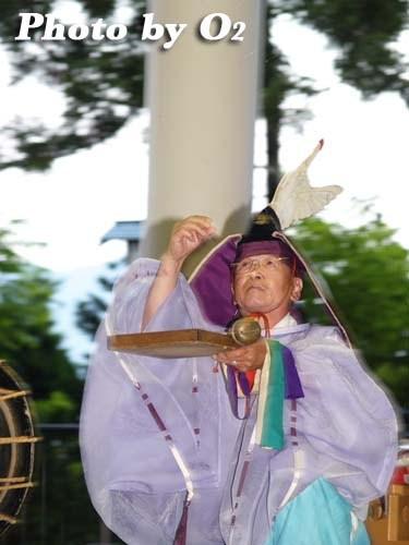 平成20年 福島町 かがり火コンサート 追悼松前神楽 庭散米舞