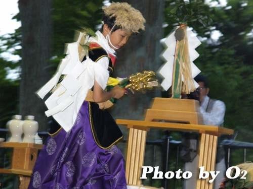 平成20年 福島町 かがり火コンサート 追悼松前神楽 荒馬舞
