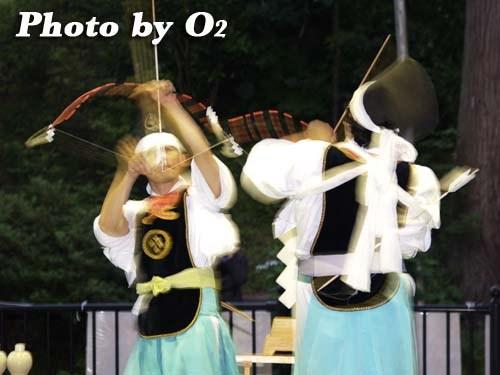 平成20年 福島町 かがり火コンサート 追悼松前神楽 神遊舞