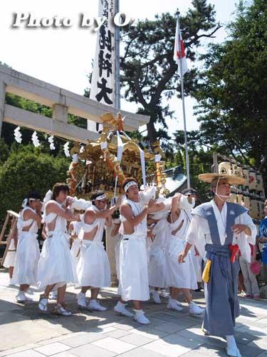 北海道,江差町,姥神大神宮渡御祭,北海道遺産,祭り,神社,平成20年,下町巡行,神輿