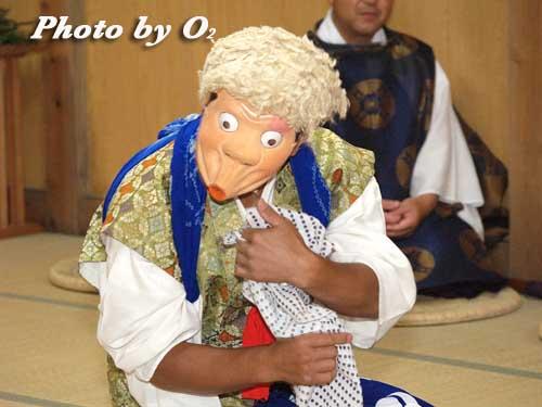 せたな町 事比羅神社 宵宮祭 太々神楽 太平楽盆舞