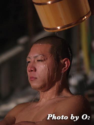 木古内町 佐女川神社 寒中みそぎ 行修者 弁財天