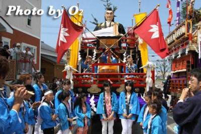 北海道,江差町,姥神大神宮渡御祭,山車,祭り,北海道遺産,下町巡幸,源氏山