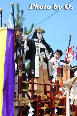 北海道,江差町,姥神大神宮渡御祭,山車,祭り,北海道遺産,上町巡幸,誉山