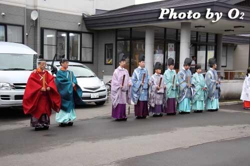 平成22年 美瑛神社宵宮祭 那智・美瑛火祭り 神職
