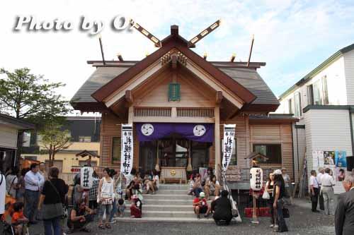 北海道 札幌 札幌村神社 拝殿